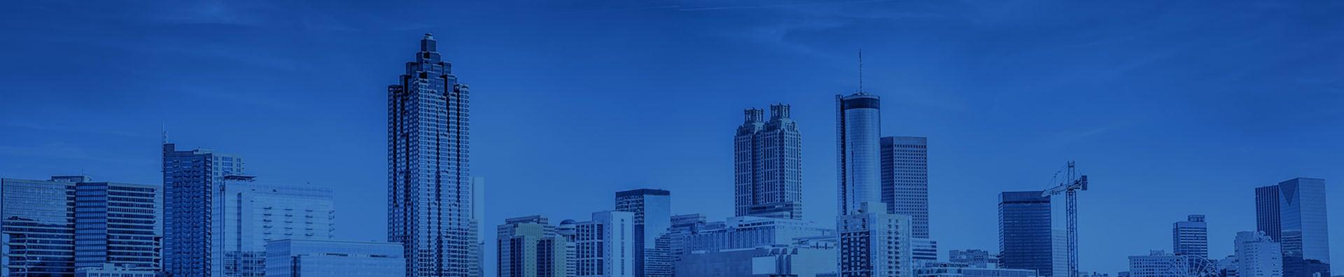 Atlanta skyline.