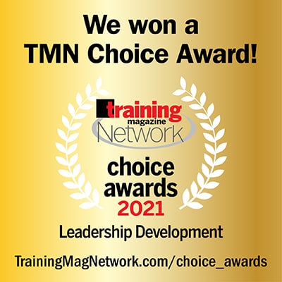 AMA Named 2021 Training Magazine Network Choice Award WINNER for LEADERSHIP DEVELOPMENT