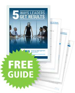 5 Ways Leaders Get Results