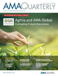 Latest Issue of AMA Quarterly.
