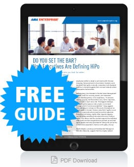Do You Set the Bar? How Executives Are Defining HiPo