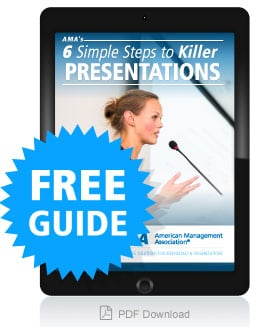 6 Simple Steps to Killer Presentations